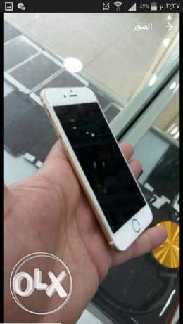 Iphone 6 128G GOLD غير مجدد. غير مصلح