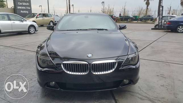 BMW 645/sport package 2005 panoramic roof & new tiers at best price
