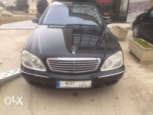 mercedes S 500 very clean for sale