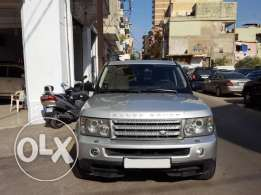 2006 Range Sport Supercharged Silver/Black Leather مصدر و صيانة الشركة