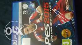 PS4 PES 2015 for sale or trade 3a unchated 4 aw mafia 3