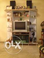 Vitrine with tv for sale