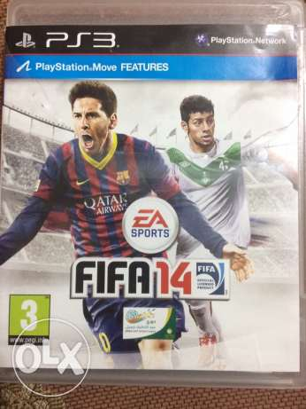 fifa 14 ps3 console cd like new