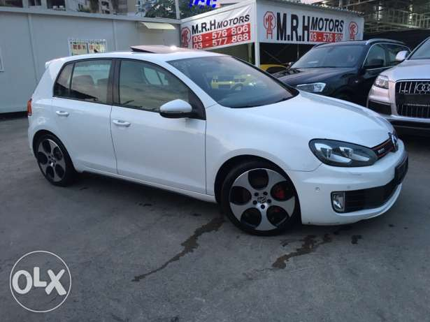 VW Golf VI GTI 2011 White Fully Loaded in Excellent Condition! بوشرية -  7