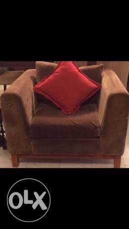 one seater couch كنابايه