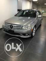 Mercedes benz C 300 model 2009 price 18500$