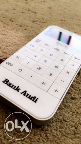 Official Limited iPhone Calculator Bank Audi Special Edition