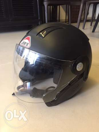 Jeb's motorbike helmet as new