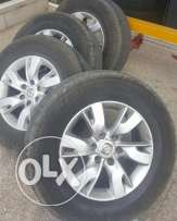 """18"""" Original Used RIMs and Tires for Nissan"""
