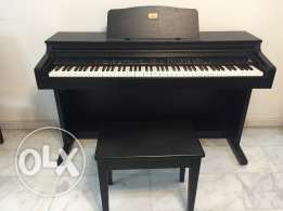 -Piano: Behringer EUROGRAND EG2080 Digital Piano -Piano Stool Bench