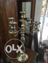 2 copper candlestick