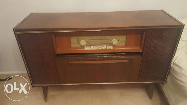 Antique Blaupunkt radio and disk player
