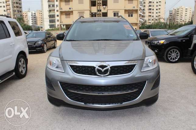 Mazda CX-9 4wd model2012 gray/blk leather ajnabi rear camera