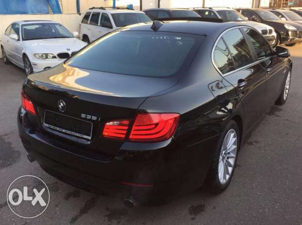 2011 BMW 535i Clean carfax Sport package Perfect condition ! سن الفيل -  4