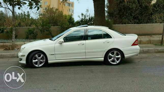 For sale mercedes c230 model 2005 المتن -  1
