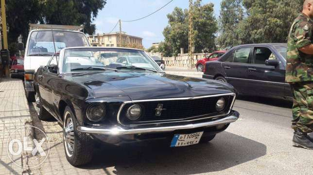 Ford Mustang convertible (1969)AUTOMATIC