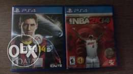 Fifa 2k14 and nba 2k14 for 15$ both