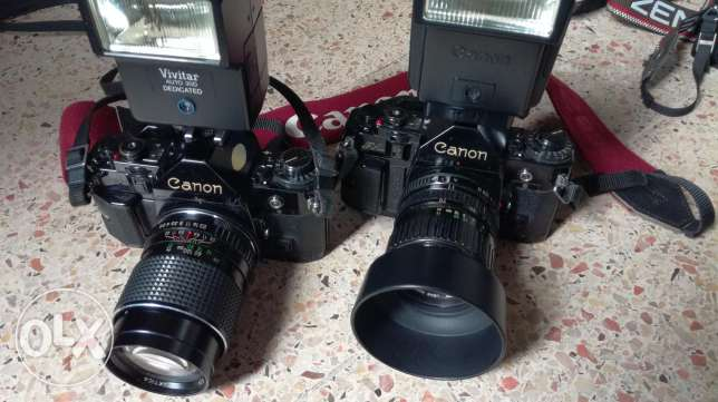 Collection of cameras for sale