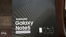 Note 5 full packeg white 4g