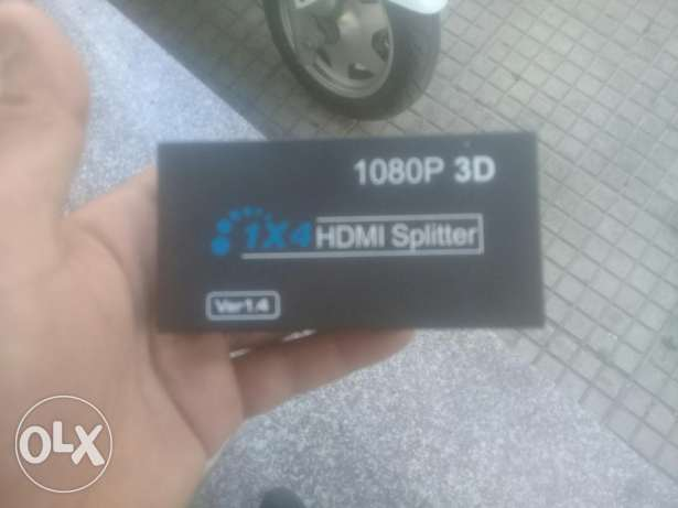splittet hdmi 1×4 1080p 3d for sale (like new) jem3a