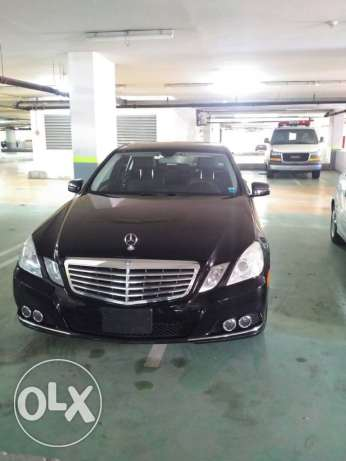 2010 mercedes benz E350 black