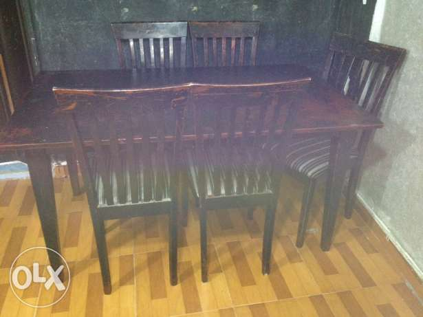 soufra 5 chairs غبيري -  2