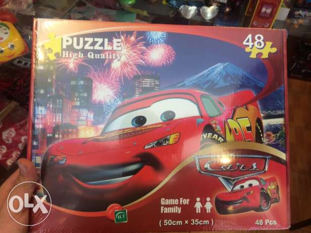 Brand New Puzzle CARS Flash McQueen High Quality (HQ)45 pcs