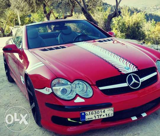 Modified sl500 amg