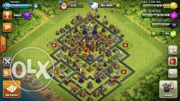 clash of clans two townhall 10