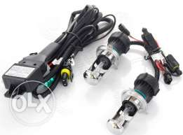 Full set xenon light H7 6000k High/Low beam + Conect lines direct.