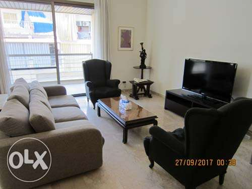 170sqm Furnished Apartment for rent Achrafieh Saydeh أشرفية -  1