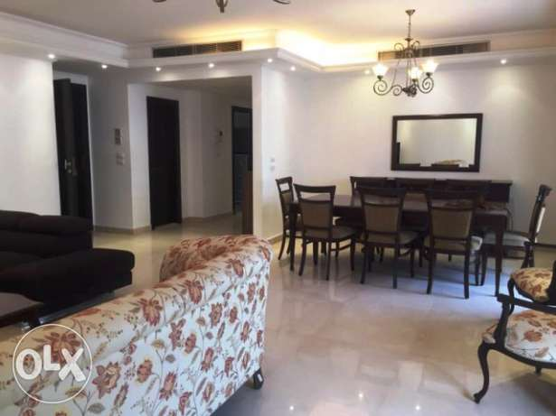 A Furnished Apartment for Rent in Ain al-Mraiseh, Beirut (AP2001)