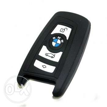 BMW smart car key silicone cover (2 designs - 2 pics)