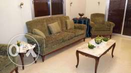 Furnished 2 bedroom apt for rent in hadath/baabda