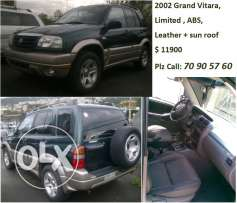 02 Grand Vitara limited fully loaded 4x4