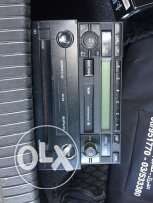 golf 4 original cd player + cassette for sale