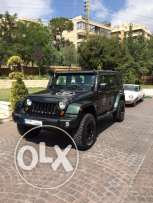 Great Condition fully loaded Wrangler unlimited sahara 2010