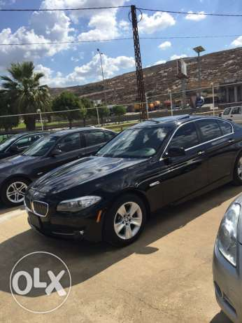 bmw 528i 2011 black xenon checheh شكا -  4