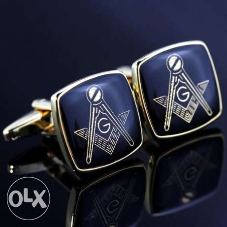 male suits masonic cufflinks