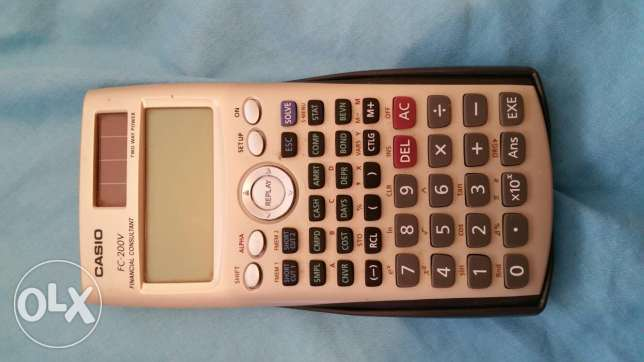 Financial calculator Casio