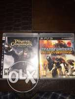 PA3 Games Pirates of the Caribbean & Transformers