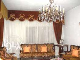 For rent fully furnished 180 m2 flat in Sarba, Kaslik, Jounieh