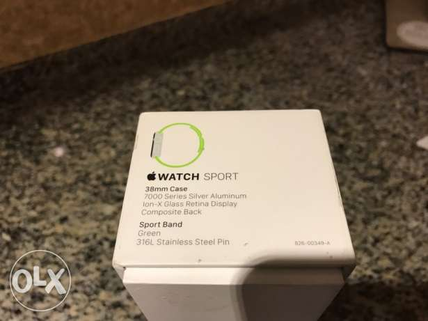 Apple Watch series 1 38 mm barely used زلقا -  4