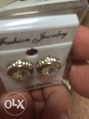 necklace and earings branded غبيري -  4