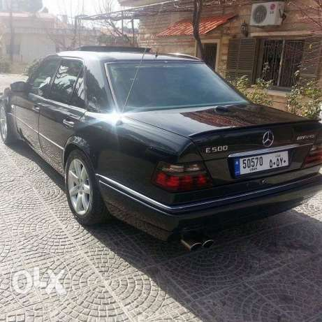 A Very Rare Mercedes Benz E500 W124036 model 1993 for sale