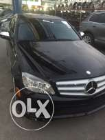 mercedes c300 look amg navigation from florida clean carfax 83000 mile