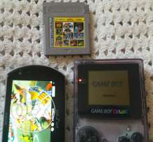 Psp go and Gameboy color