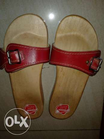 wooden sandal for bath new made in germany