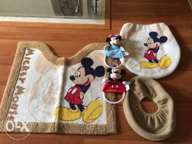 Mickey Mouse bathroom set 5 pcs.