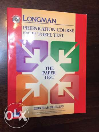 NEW TOEFL book for sale